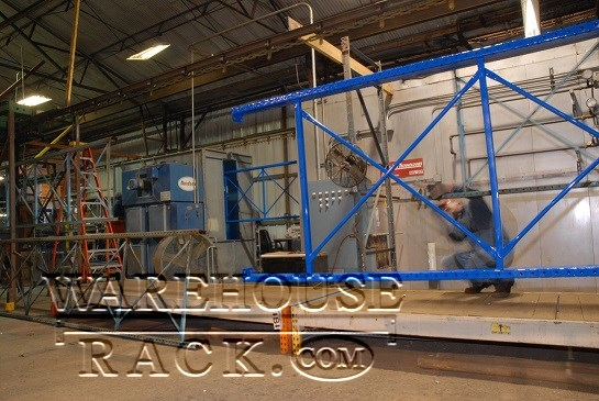 Pallet Rack Powder Coating